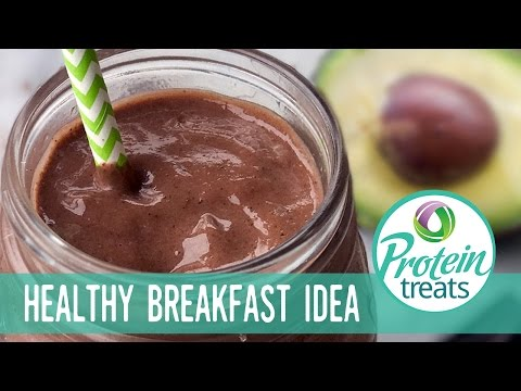 Chocolate Avocado & Chia Smoothie Protein Treats By Nutracelle