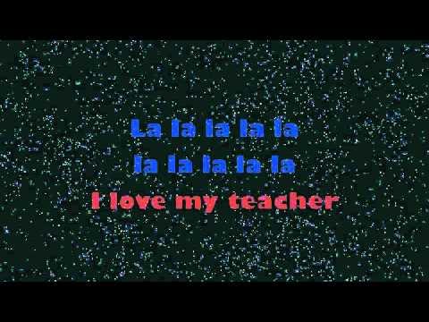 I LOVE MY TEACHER LYRIC VIDEO by Musical Playground