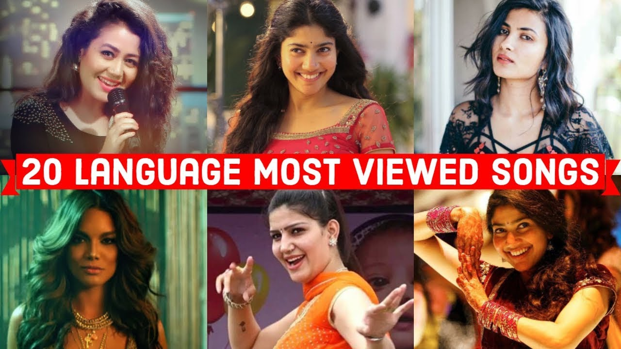 20 Language Most Viewed Songs On Youtube (Hindi, Punjabi, Tamil, Telugu, English, Spanish etc.. )