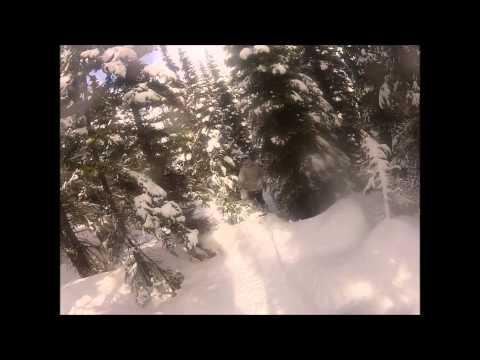 Snowboarding Smithers B.C Hudson Bay Mountain
