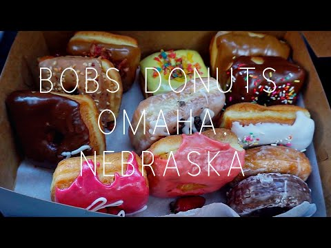 Our adventure to Bobs Donuts in Omaha, Nebraska