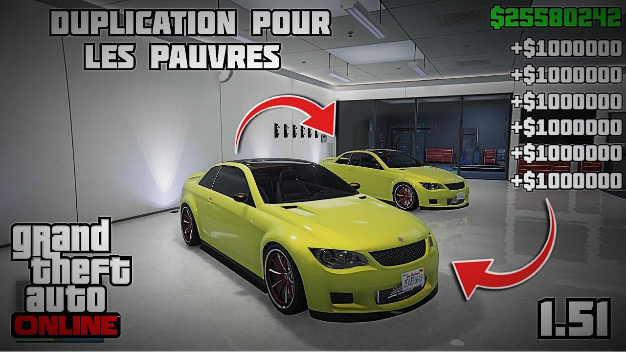 NEW GLITCH DUPLICATION POUR LES PAUVRES ? GTA 5 ONLINE✔️ 1.51 EN SOLO !! ?