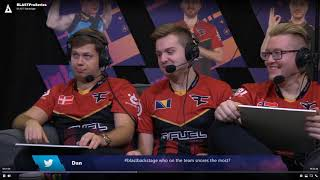 Faze Clan Blast Pro Series Lisbon Interview (Dec 13, 2018)