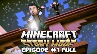 КВАДРАТНЫЕ ПРИКЛЮЧЕНИЯ - Minecraft: Story Mode [Эпизод 1 FULL].