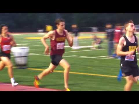 Zach 800 m Districts May 16,2018