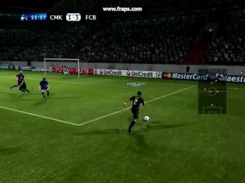 PES2012 - Gol de Messi
