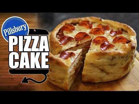 Pillsbury Pepperoni Pizza Cake Recipe