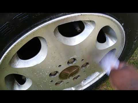 The best way to clean alloy rims