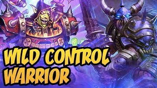 Full Control! Wild Control Warrior | The Boomsday Project | Hearthstone
