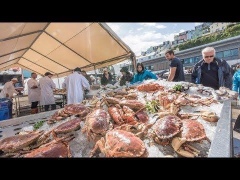 England's Seafood Coast: Fishstock Brixham Food Festival