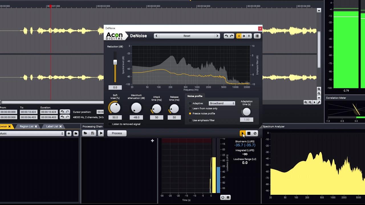 Acoustica | Digital Audio Editor