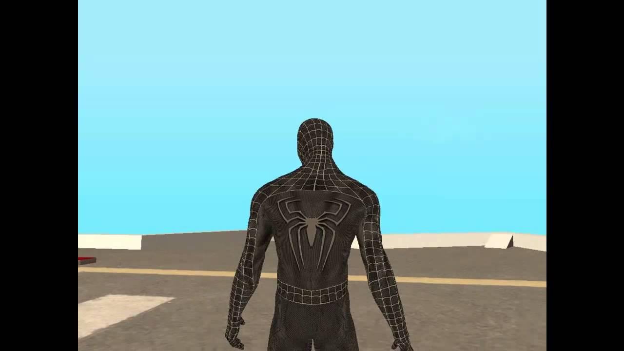 how to get black suit spiderman 3
