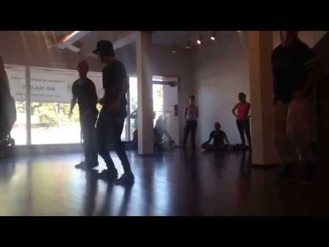 Alyson Stoner master class - Where To Land - Tracks Garland - hip hop - MDC SLC