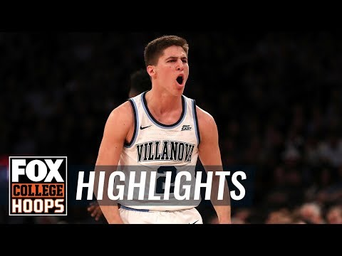 Collin Gillespie hits 5 three-pointers as Villanova beats Providence | FOX COLLEGE HOOPS HIGHLIGHTS