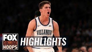 Collin Gillespie hits 5 three-pointers as Villanova beats Providence | FOX COLLEGE HOOPS HIGHLIGHTS