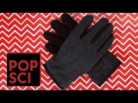 How to make touchscreen-sensitive gloves