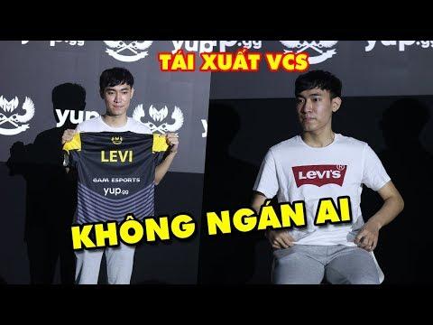 Toàn cảnh GAM LEVI tái xuất VCS - Tuyên bố không ngán bất cứ tuyển thủ đi rừng Việt Nam nào