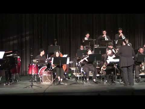 Deep ( Steve Brown) Kerr High School Jazz Band