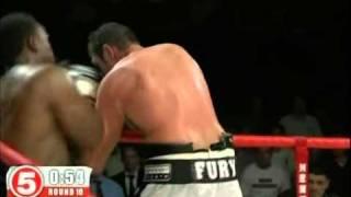 Dereck Chisora vs Tyson Fury - Round 10
