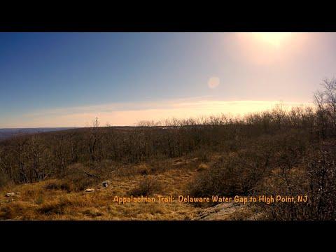 Appalachian Trail: Delaware Water Gap to High Point, NJ