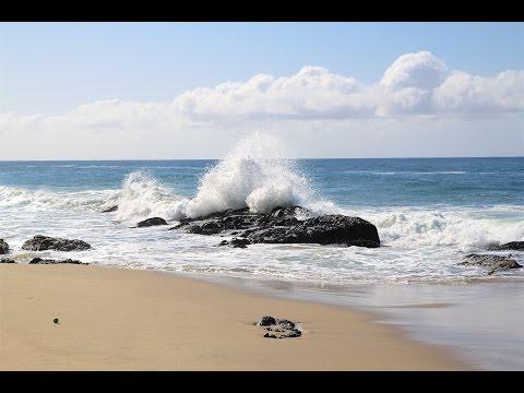 1000 steps beach in laguna and sea caves