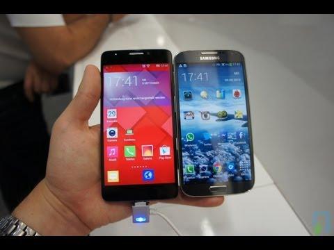 Alcatel One Touch Idol X vs. Galaxy S4 deutsch Vergleich