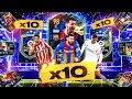 What do you get from 10 guaranteed la liga team of the season packs