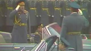 7 ноября 1974г. Москва. Красная площадь. Военный парад.