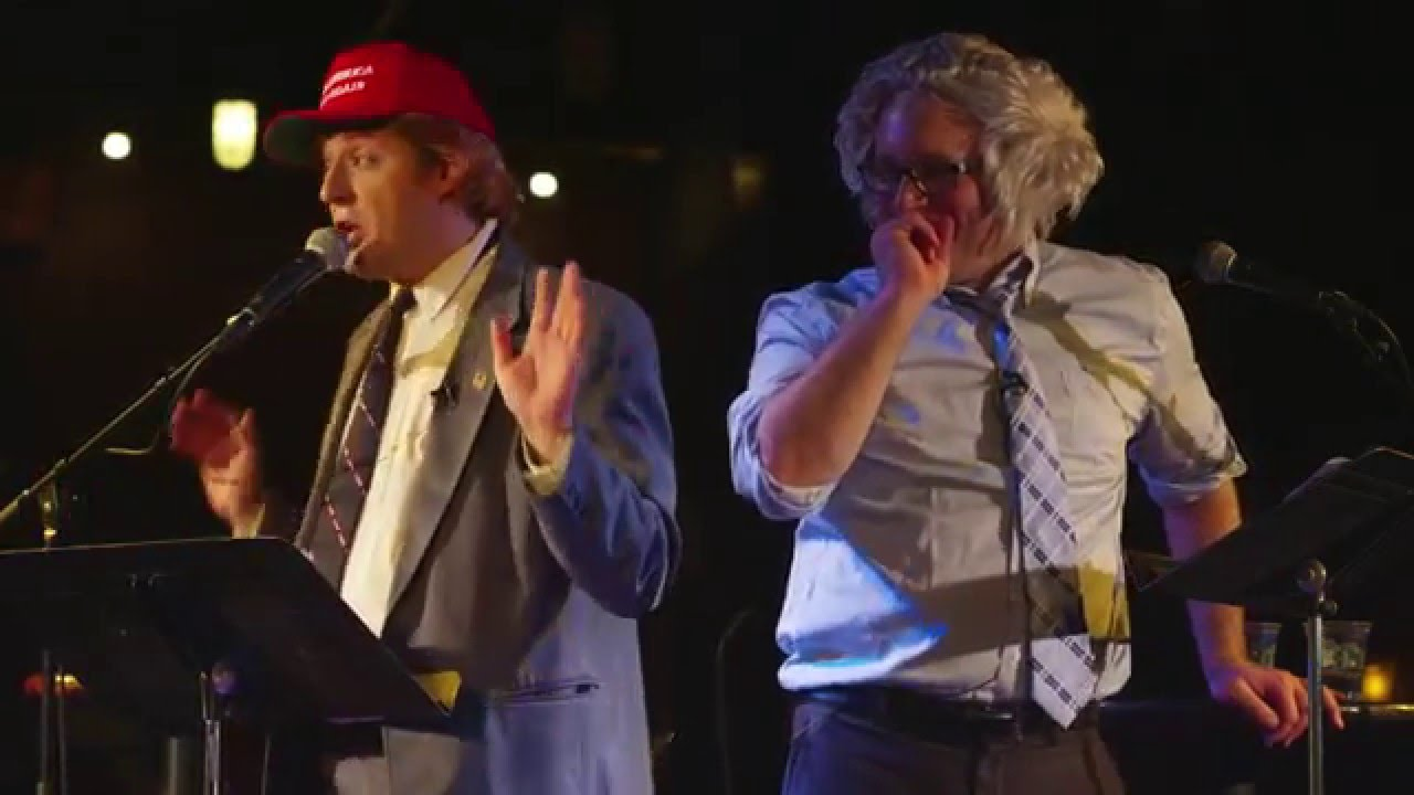TRUMP VS. BERNIE 2016 DEBATE TOUR - Anthony Atamanuik ...