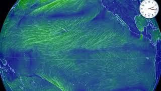 世界の風 エルニーニョ現象発生 12月10日14時発表