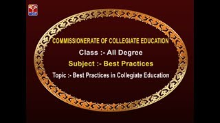 CCE || Best Practices in Collegiate Education || LIVE With P. Harikrishna & Rakesh Sreerama