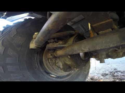 Проверка рулевого управление уаз
