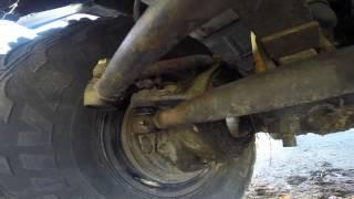 видео Обслуживание и регулировка рулевого управления УАЗ-2206, 3741