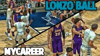 LONZO EMOTIONAL RETURN - NBA 2K17 LONZO BALL MyCareer