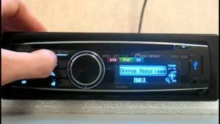 Видеообзор автомагнитолы Pioneer DEH-8300SD