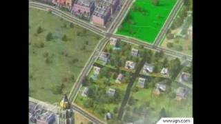 SimCity 4 PC Games Gameplay - E3 2002: Video 4