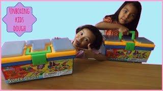 UNBOXING MAINAN ANAK ♥ KIDS DOUGH SUPER CADDY (Part 1)