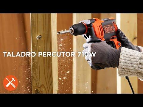 Taladro Percutor 710W I BLACK+DECKER™ [Cápsula]