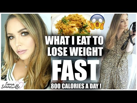 800 CALORIES A DAY?! WHAT I EAT IN A DAY DOING THE CAMBRIDGE DIET | LAURA SOMMERVILLE