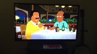 The Cleveland Brown Show Cleveland's dinner with Barry Shadwell