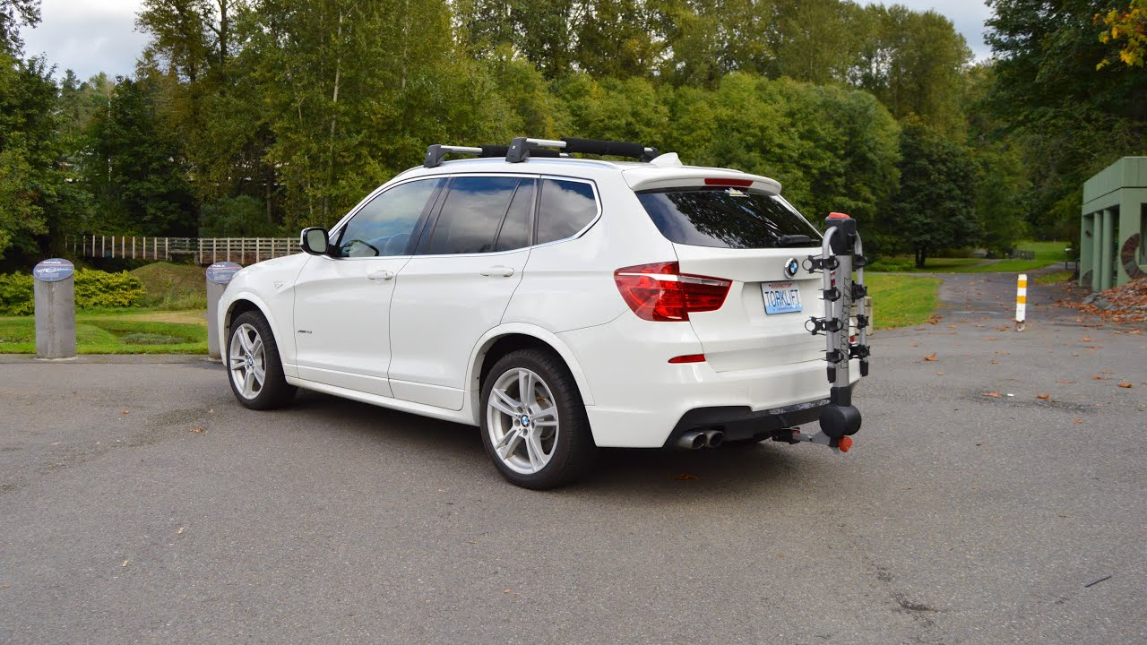 Bmw X5 Towing >> 2013+ BMW X3 Stealth EcoHitch® Trailer Hitch -Torklift Central - YouTube