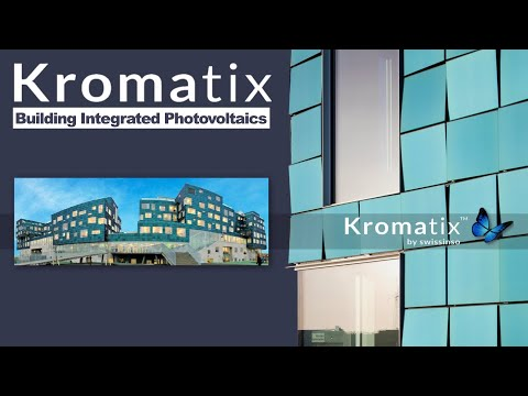Kromatix Beautiful Building Integrated Photovoltaics