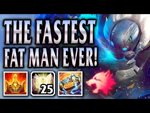 ARCTIC OPS AP GRAGAS! FAST FAT MAN FULLY STACKED! - League Of Legends S8