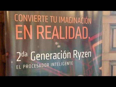 Presentacion Ryzen 2a Gen En México
