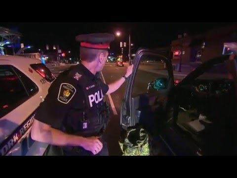 CTV Joins Toronto Police As They Stop Impaired Drivers