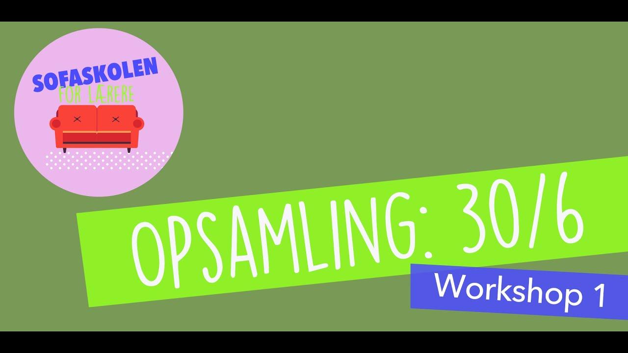 SANSEBASERET UNDERVISNING - DEL 2 / Sofaskolen for lærere  / 30. juni