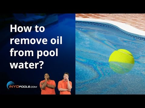 Poolside Chat Episode 55: How to remove oil from pool ...
