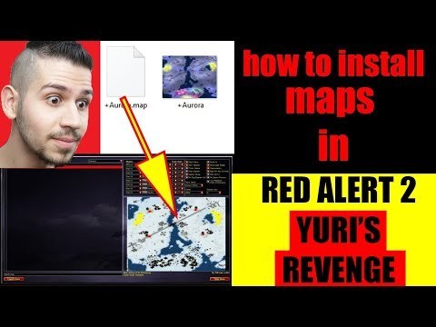 how to download & install new maps on red alert 2 yuri's revenge in 2021 - red alert 2 install map