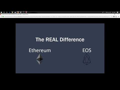 The REAL Difference Between Ethereum and EOS