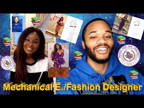 Nigerian Mechanical Engineer for the United States Department of Defense and Fashion Designer